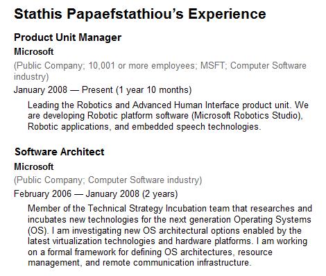 Stathis Papaefstathiou profil
