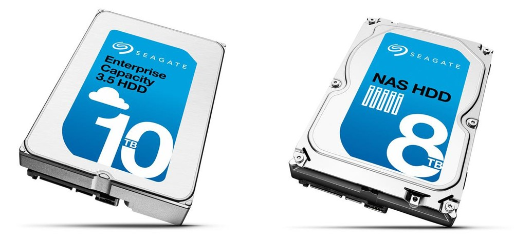 Seagate 8 To & 10 To