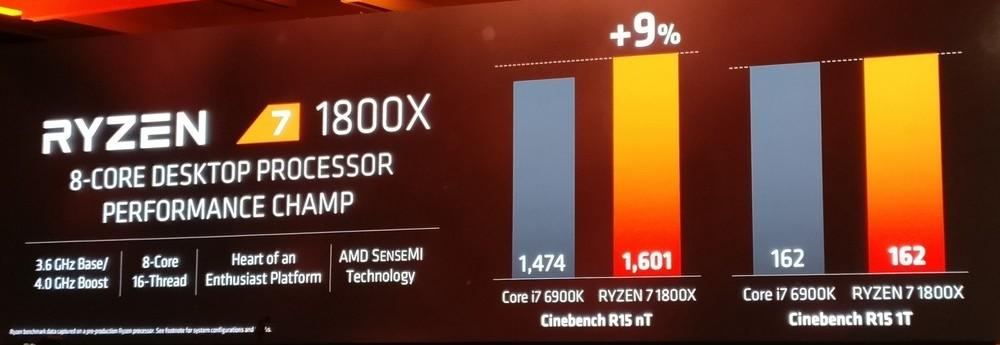 AMD Conférence Ryzen