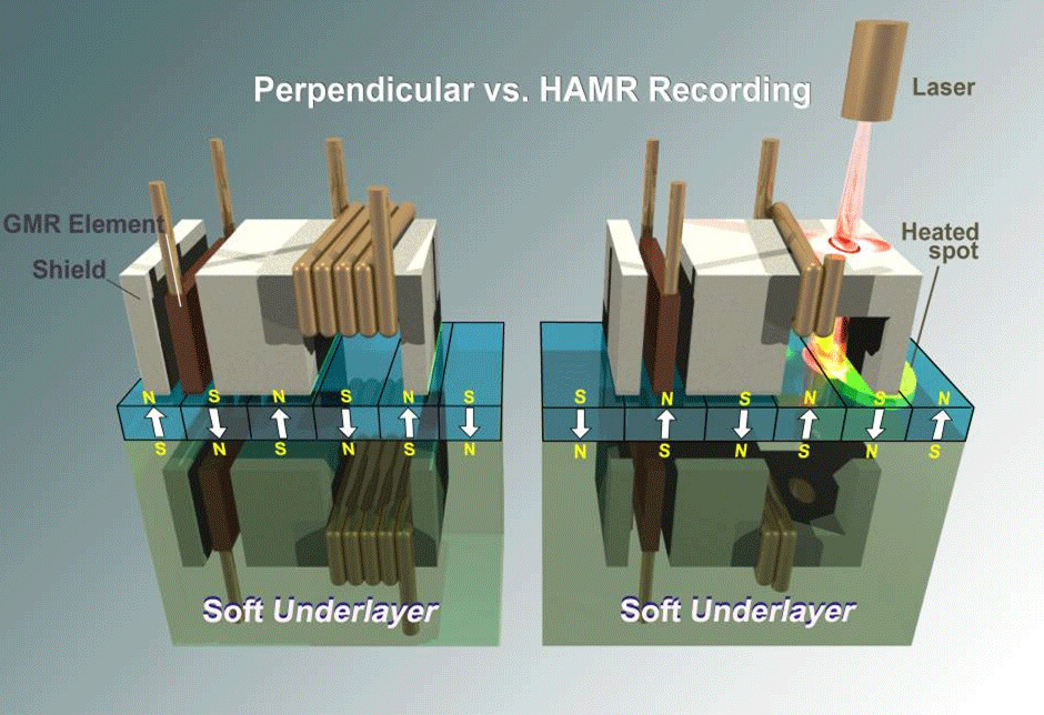 Perpendiculaire vs. HAMR
